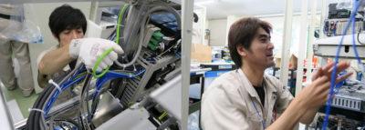 半導体製造装置:露光機・検査機の制御盤製作の実績